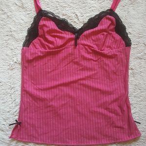 Dollhouse Pink Nighty Top Size Medium